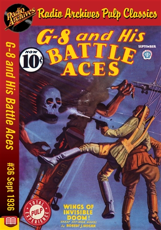 G-8 and His Battle Aces eBook #36 September 1936 Wings of Invisible Doom