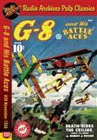 G-8 and His Battle Aces eBook #38 November 1936 Death Rides the Ceiling