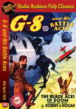 G-8 and His Battle Aces eBook #55 April 1938 The Black Aces of Doom