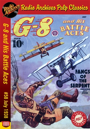 G-8 and His Battle Aces eBook #058 July 1938 Fangs of the Serpent