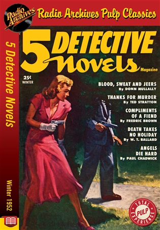 5 Detective Novels eBook Winter 1952
