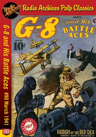 G-8 and His Battle Aces eBook #90 March 1941