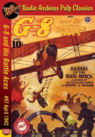 G-8 and His Battle Aces eBook # 97 April 1942 Raiders of the Death Patrol