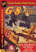 G-8 and His Battle Aces eBook # 99 August 1942 The Death Master's Last Patrol