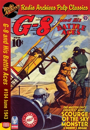 G-8 and His Battle Aces eBook #104 June 1943 Scourge of the Sky Monster