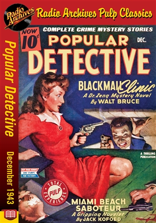 Dime Mystery Magazine eBook Help Me to Die! by Leon Byrne