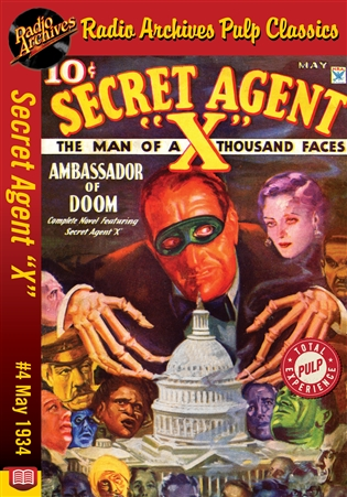 "Secret Agent ""X"" eBook #4 Ambassador of Doom"
