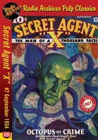 "Secret Agent ""X"" eBook #7 Octopus of Crime"