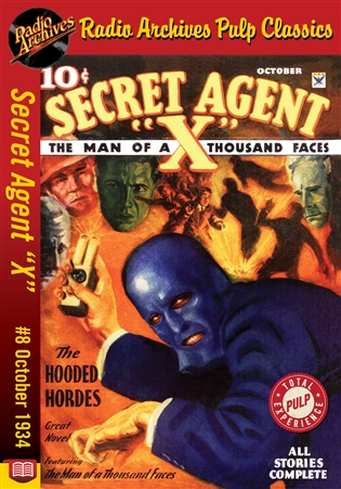 "Secret Agent ""X"" eBook #8 The Hooded Hordes"