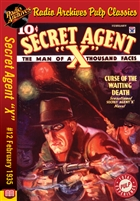 "Secret Agent ""X"" eBook #12 Curse Of The Waiting Death"