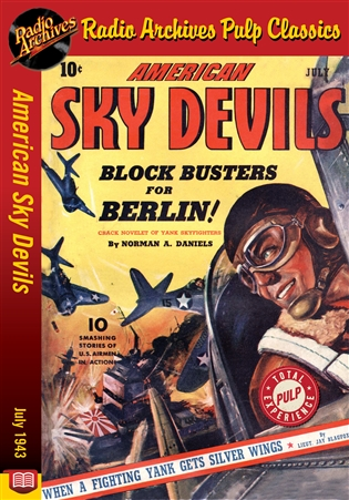 American Sky Devils eBook July 1943