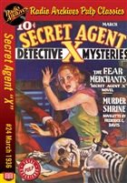 "Secret Agent ""X"" eBook #24 The Fear Merchants"