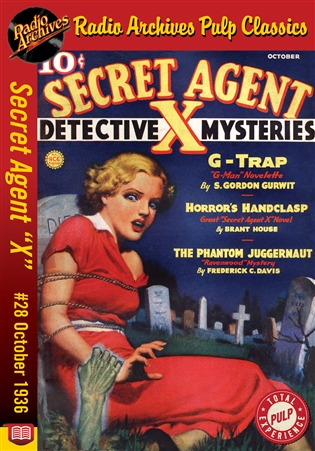 "Secret Agent ""X"" eBook #28 Horror's Handclasp"