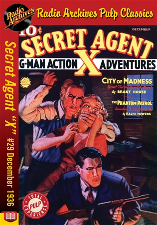 "Secret Agent ""X"" eBook #29 City Of Madness"