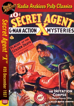 "Secret Agent ""X"" eBook #35 Plague Of The Golden Death"