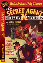 "Secret Agent ""X"" eBook #37 Claws Of The Corpse Cult"