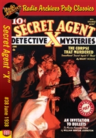 "Secret Agent ""X"" eBook #38 The Corpse That Murdered"