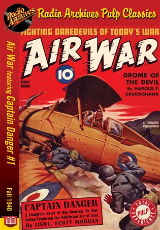 Air War eBook Captain Danger #1 Fall 1940