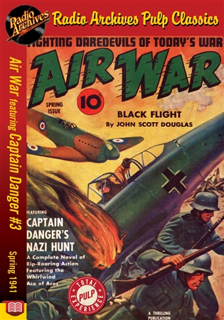Air War eBook Captain Danger #3 Spring 1941