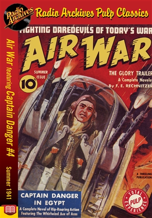 Air War eBook Captain Danger #4 Summer 1941