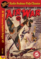 Air War eBook Captain Danger #5 Fall 1941