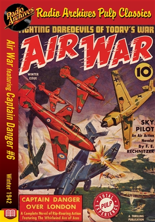Air War eBook Captain Danger #6 Winter 1942