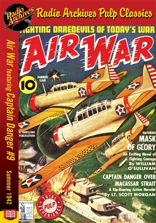 Air War eBook Captain Danger #9 Summer 1942