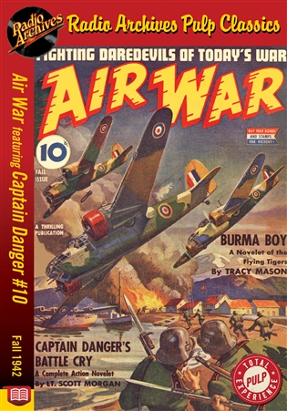 Air War eBook Captain Danger #10 Fall 1942