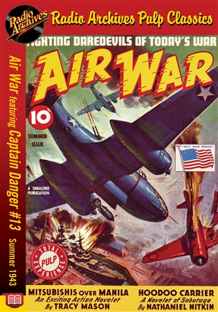 Air War eBook Captain Danger #13 Summer 1943