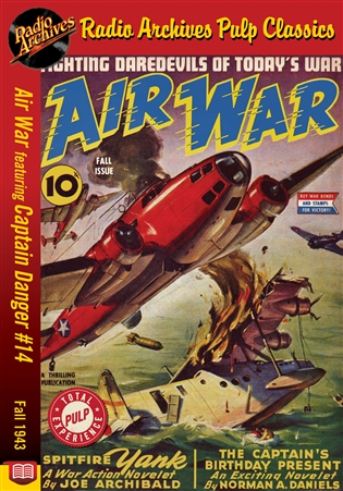 Air War eBook Captain Danger #14 Fall 1943