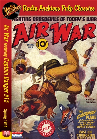 Air War eBook Captain Danger #15 Spring 1944
