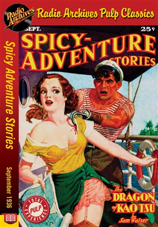 Spicy Adventure Stories eBook September 1936