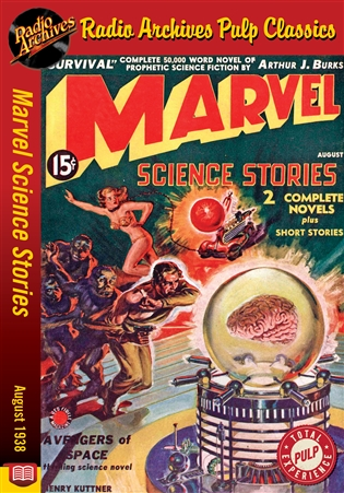Marvel Science Stories eBook August 1938
