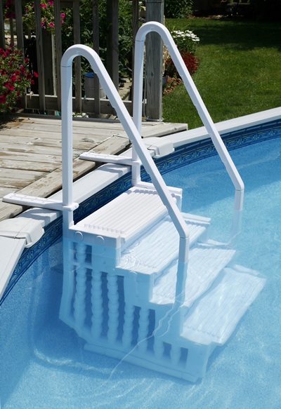 Pool Steps Above Ground