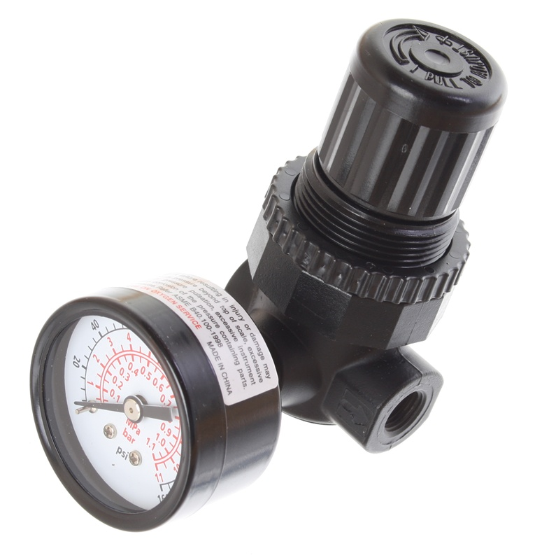 Miniature Air Regulator 1 8 Quot Pipe Size 19 Max Scfm 5 To