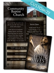Custom - Jesus Saves Booklet
