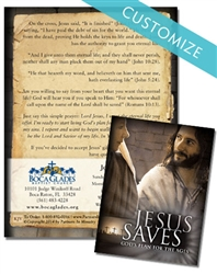 Jesus Saves Brochure - Customized