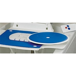Bathmaster Deltis, Swivel Transfer Seat with Blue Cover