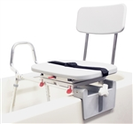 Eagle Health Tub Mount Swivel Sliding Transfer Bench with Swivel Seat - 77762