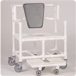 Bariatric Shower Chair Commode Model BSC660