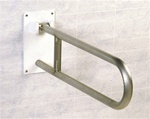 "Flip-up Safety Rail with Open Loop & ""Friction Hinge"""