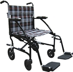 Fly-Lite Aluminum Transport Chair - Drive Medical DFL 19