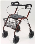 Dolomite Legacy Rollator Walkers - with front basket