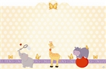 """Congratulations"" : Baby animals (Pack of 50 enclosure cards)"