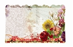 Vintage flowers (Pack of 50 enclosure cards)