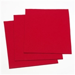 "Felt Square 9""x12"" - Red (Pkg of 25)"