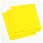"Felt Square 9""x12"" - Yellow (Pkg of 25)"