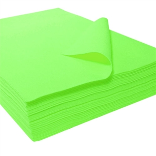 "Felt Square 9""x12"" - Lime Green (Pkg of 25)"
