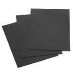 "Felt Square 9""x12"" - Black (Pkg of 25)"
