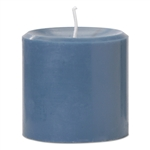"Pillar Candle 2.8""x2.8""H - Blue"